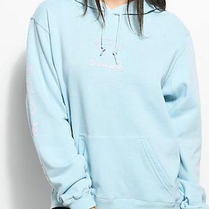 Diamond Supply Co baby blue sweatshirt